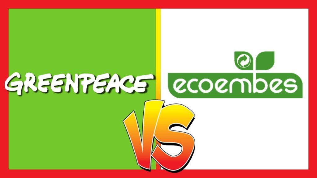 Ecoembes y greenpeace